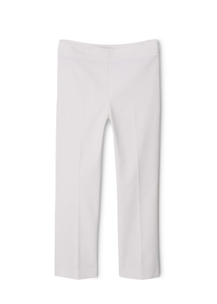 Mango Stretch cotton-blend trousers