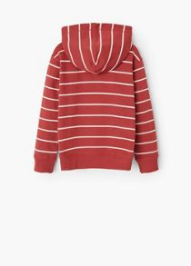 Boys Striped cotton-blend sweatshirt