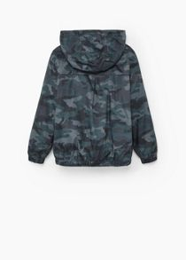 Mango Boys Printed water-repellent jacket