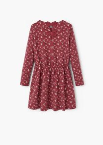 Mango Girls Flower print dress