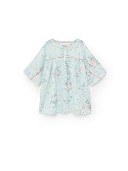 Girls Floral Cotton blouse