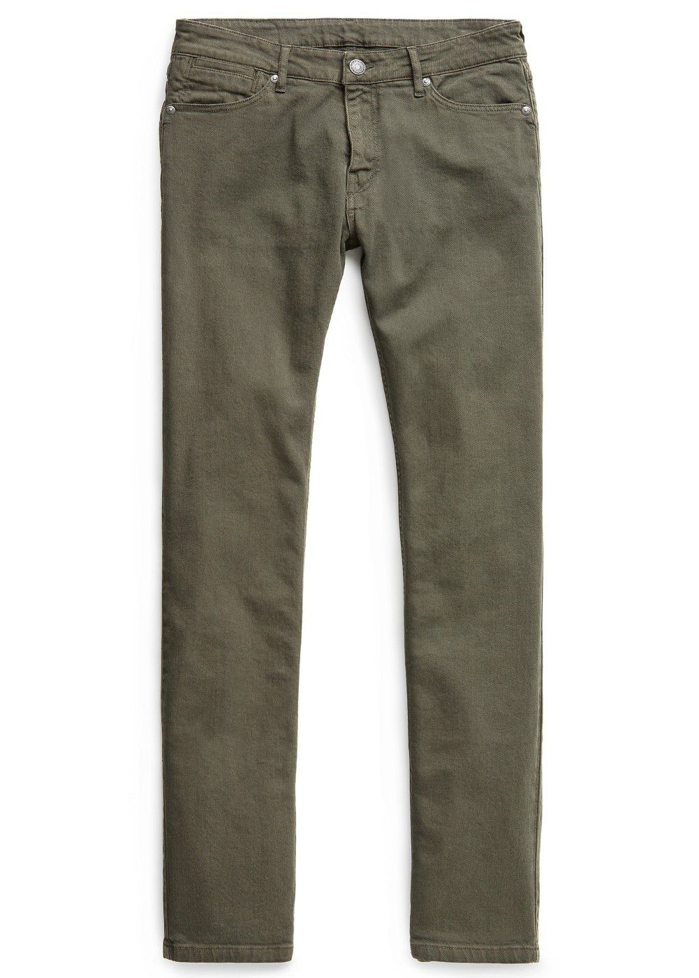 Slim-fit khaki alex jeans