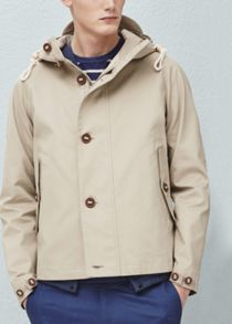 Mango Incorporated-visor hooded jacket