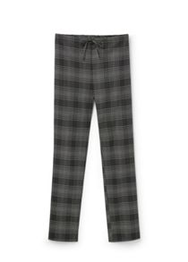 Mango Check trousers