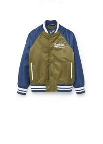 Mango Boys Message varsity jacket