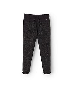 Mango Girls Metallic thread jogging trousers