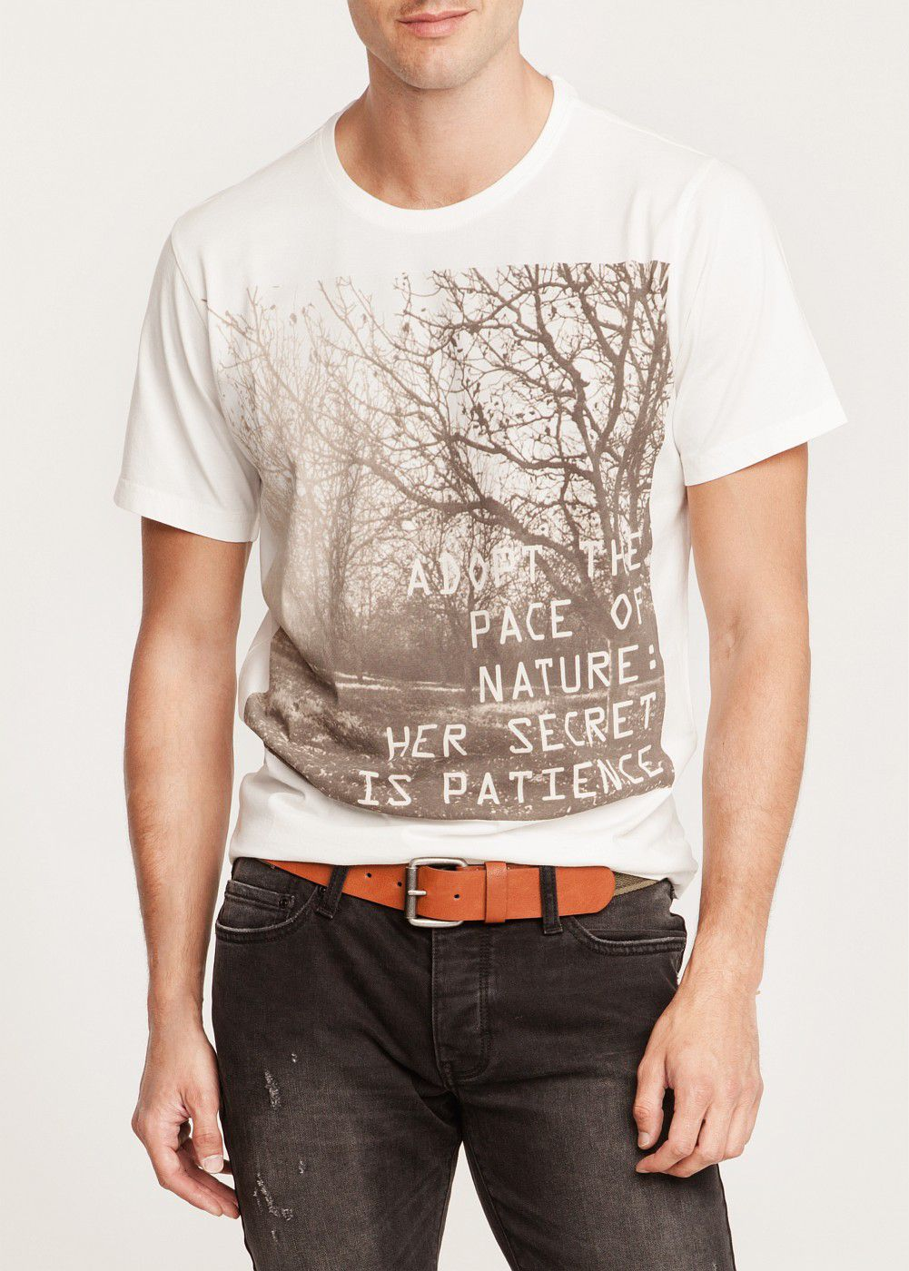 Nature printed t-shirt