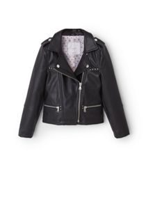 Mango Girls Studded biker jacket
