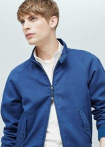 Mango Linen-cotton blend jacket