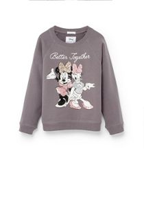 Mango Girls Cartoon cotton sweatshirt