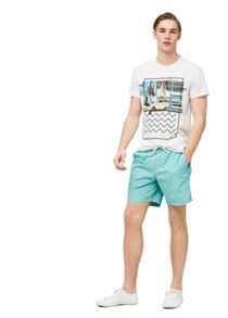Mango Cotton canvas bermuda shorts