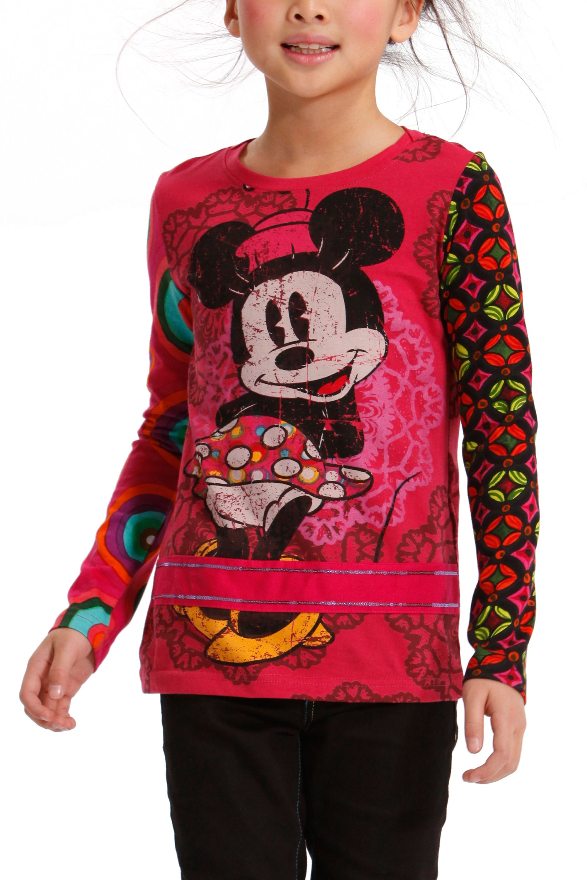 Girl`s cora Minnie Mouse t-shirt