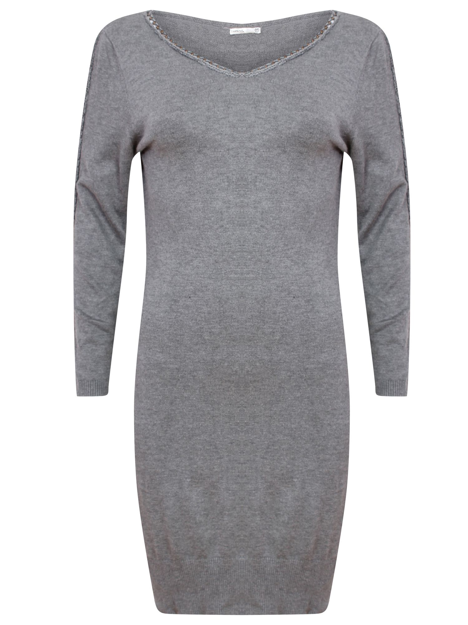 Lavand Knitted long sleeve dress