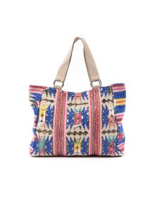 Lavand Printed Shopper Handbag