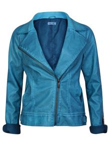 Ginger & Soul Biker Jacket with Zip