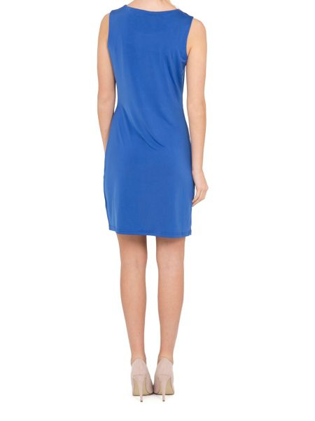 Lavand Sleeveless Gathered Dress