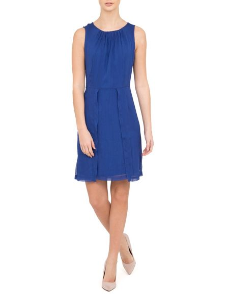 Lavand Lightly Pleated Dress