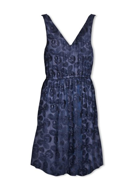 Lavand Lace Skater Dress
