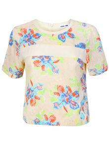Ginger & Soul Short-Sleeved Floral T-Shirt