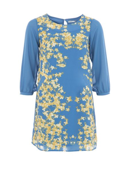 Lavand Floral Printed Dress