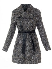 Textured Winter Coat