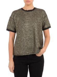Lavand Stone Printed Top