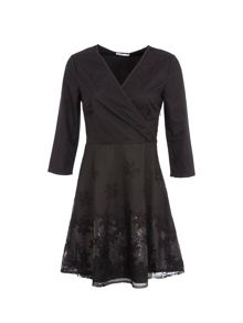 Lavand 3/4 Long Sleeve Dress