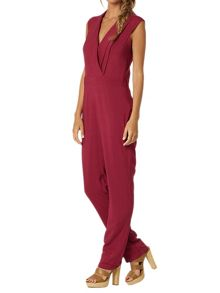 Lavand Jumpsuit With Wrap Front Design