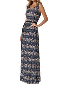 Lavand Printed Maxi Dress