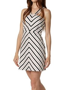 Lavand Striped Dress
