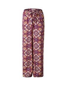 Lavand Flared Print Trousers