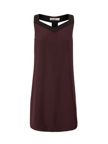 Lavand Dress With Racer Back
