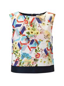 Lavand Cotton Floral Top