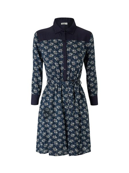 Lavand Floral Shirt Dress