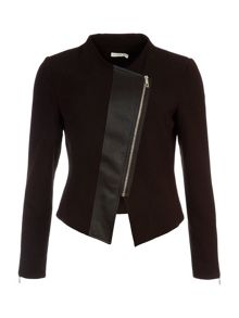 Lavand Slim Fit Zip Up Jacket