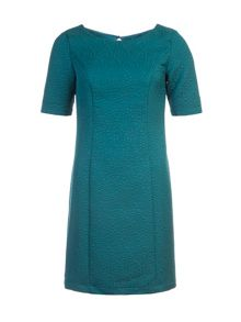 Lavand Textured Shift Dress