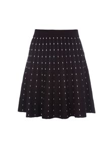 Lavand Knitted Skater Skirt