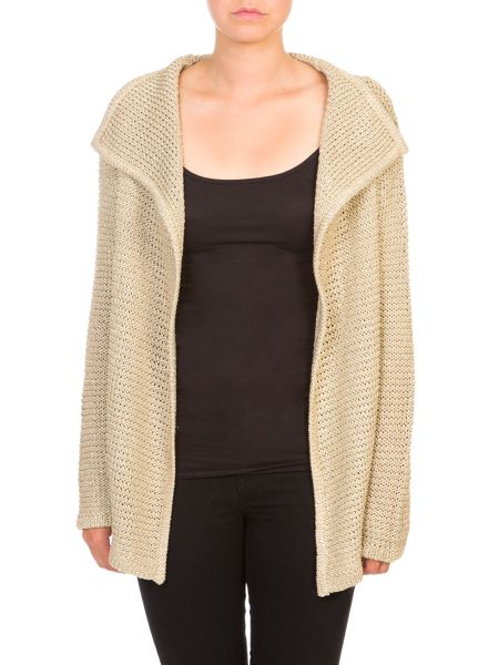 Lavand Metallic Cardigan