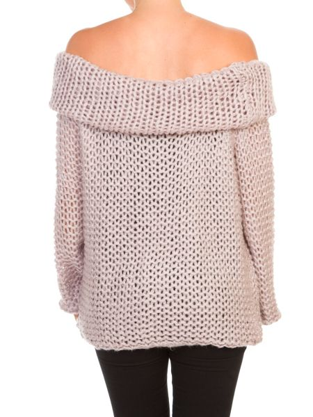 Lavand Off The Shoulder Jumper