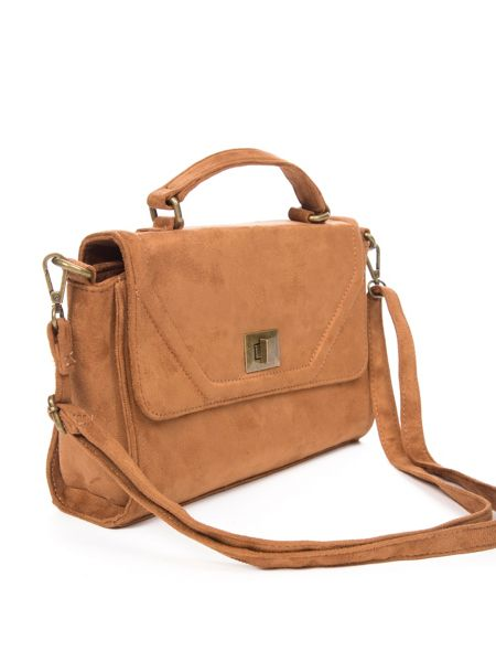 Lavand Twist Lock Satchel