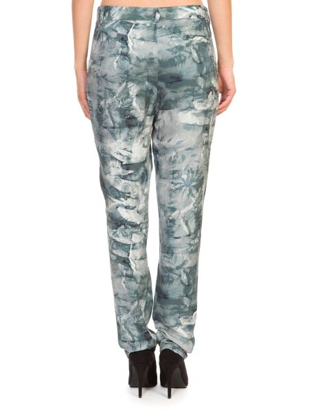 Lavand Printed Trousers