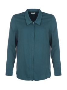 Lavand Zip Up Shirt