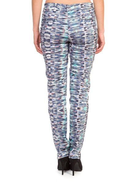Lavand Printed Cotton Trousers