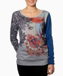 Boltino long sleeve printed t-shirt