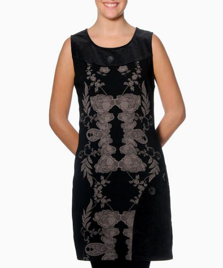 Smash Placebo sleeveless printed dress