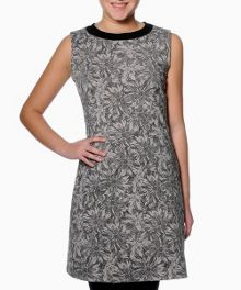 Raven sleeveless printed dress