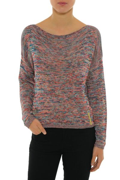 Smash Ladeira Openwork knitted sweater