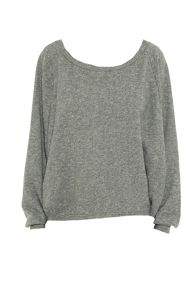 Smash Miroir Sweatshirt with blond lace detail