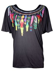 GLICINIA Basic T-shirt, extended tail