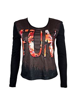 Fun Long sleeve printed T-shirt